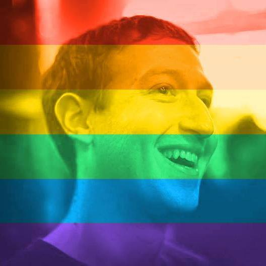 Sex offender rainbow profile pic
